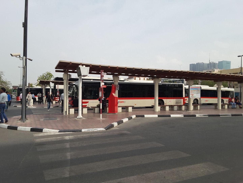 Satwa Bus Station 2 Public Transport In Al Bada Dubai
