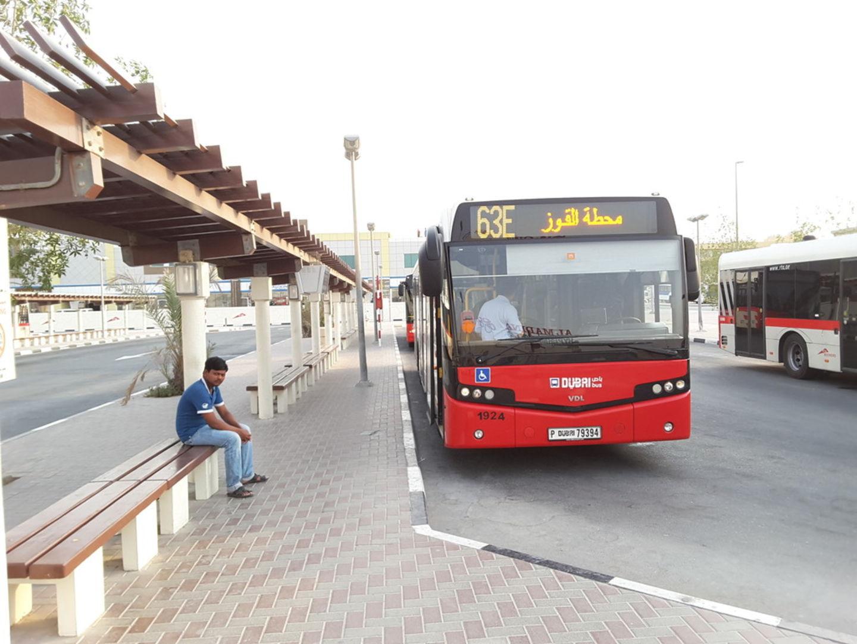 Al Qusais Bus Station 1 Public Transport In Muhaisnah 1 Dubai