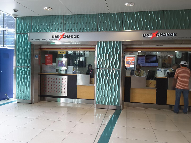 UAE Exchange Centre, (Money Exchange) in Al Rashidiya, Dubai